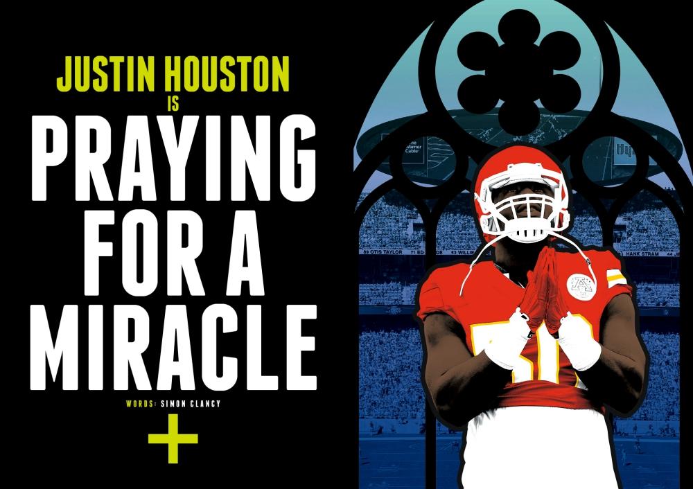 Justin Houston Issue XVII SPREAD