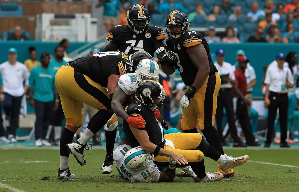 Ben Roethlisberger, Pittsburgh Steelers v Miami Dolphins