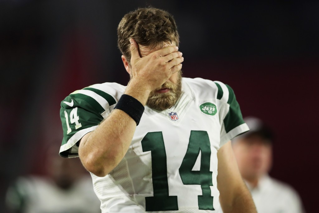 Ryan Fitzpatrick, New York Jets v Arizona Cardinals
