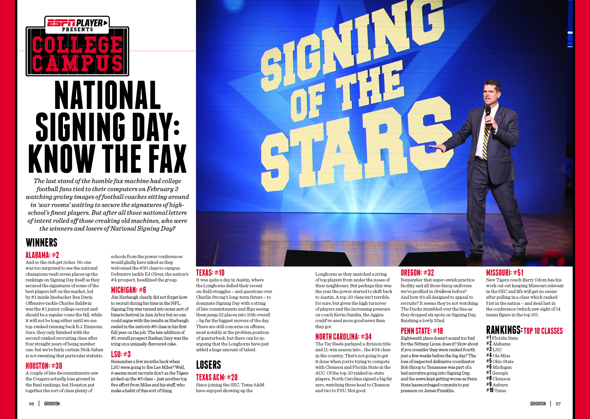 National Signing Day Issue XXI
