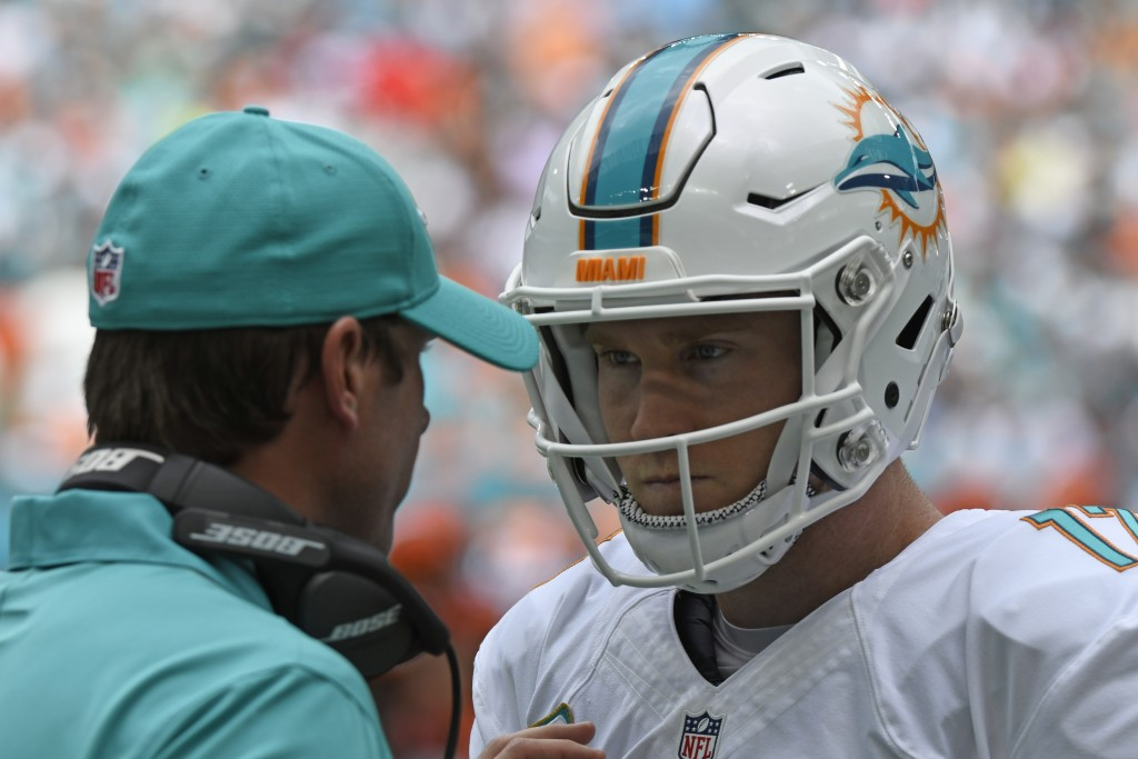 Ryan Tannehill Miami Dolphins v Cleveland Browns