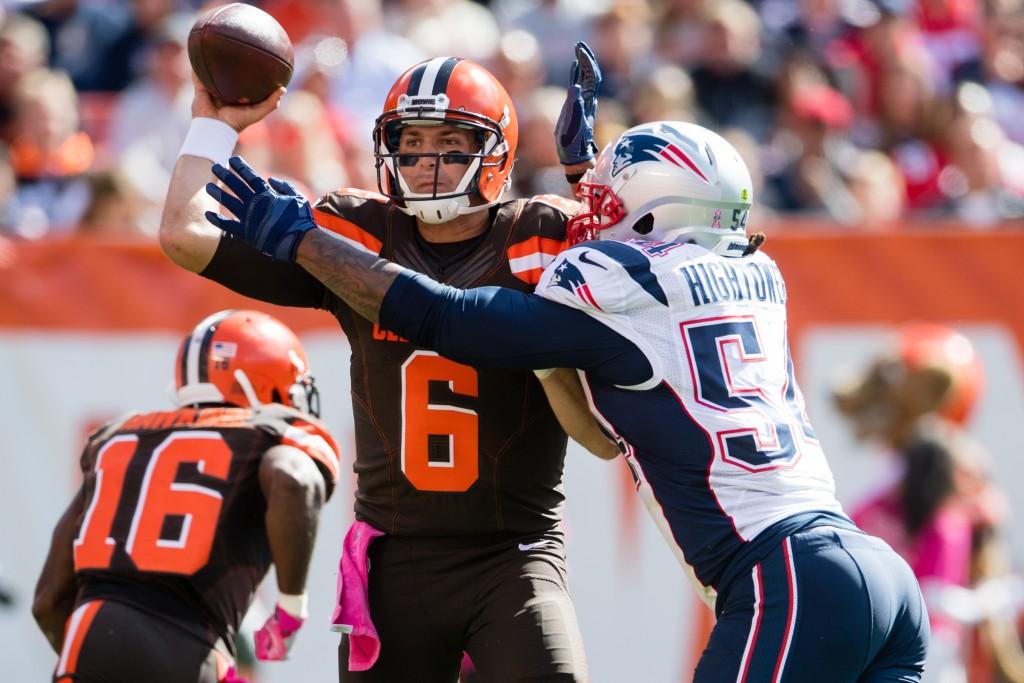 Cody Kessler, New England Patriots v Cleveland Browns