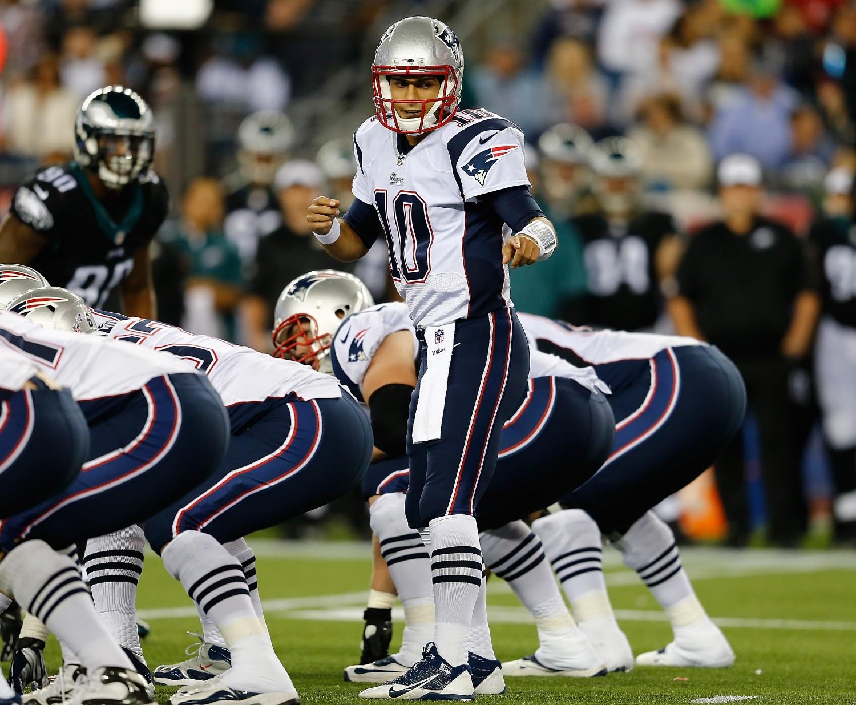 Jimmy Garoppolo, New England Patriots