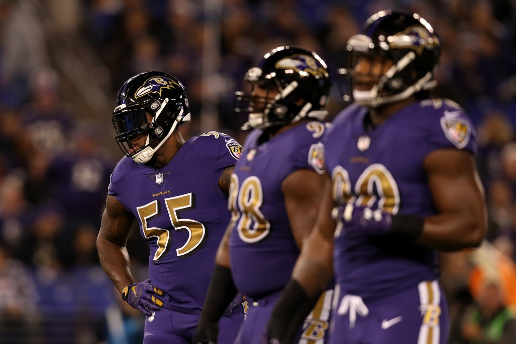 Terrell Suggs, Cleveland Browns v Baltimore Ravens