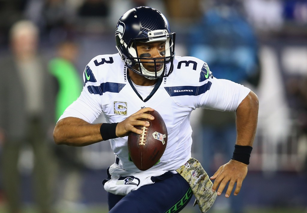 Russell Wilson, Seattle Seahawks v New England Patriots