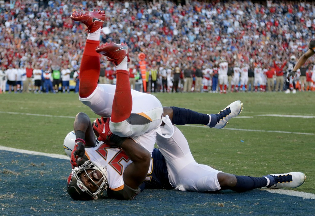 Keith Tandy, Tampa Bay Buccaneers v San Diego Chargers